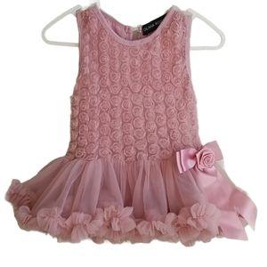 Olivia Rose Pink Rosettes Tutu Dress